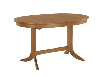 Oval Dining Table on Pedestal