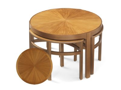 Sunburst Top Trinity Nest of Tables