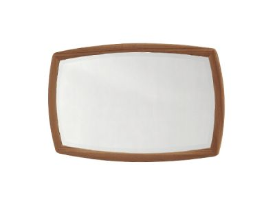 Shaped Wall Mirror
