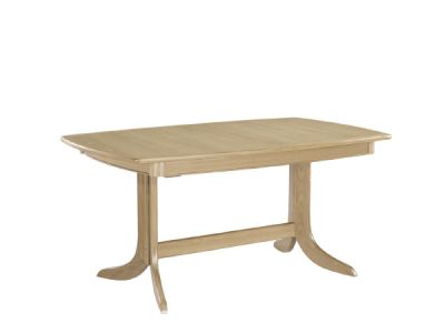 Large Boat Shaped Table on Pedestal