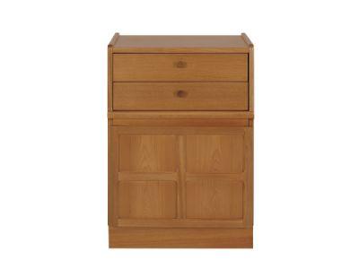 2 Drawer Mid Storage Unit