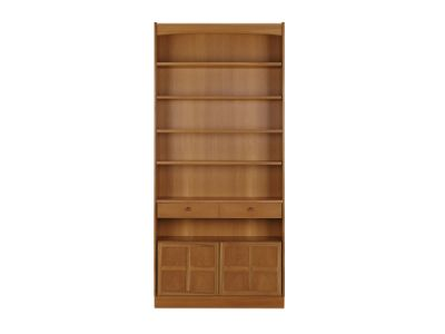 Tall Bookcase with Doors