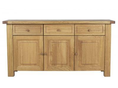 3 Dr / Dwr Sideboard Oak