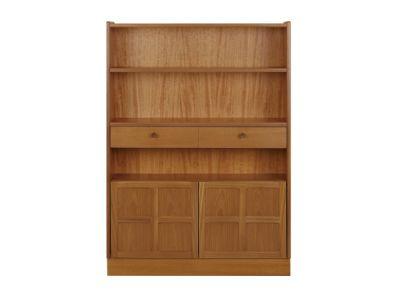Medium Bookcase with Doors