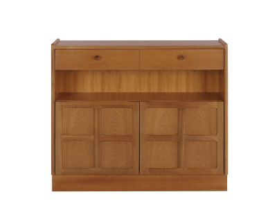 Low Bookcase with Doors
