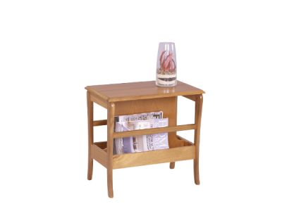 Occasional Table Magazine Rack