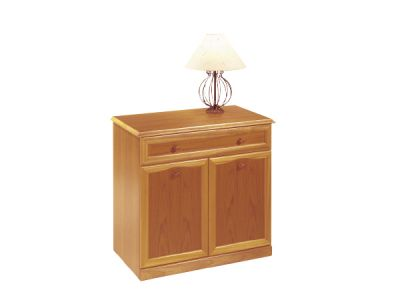 Sideboard Straight Top 2 Door 1 Drawer