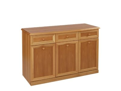 Sideboard Canted Top 3 Door 3 Drawer