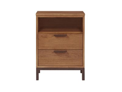 2 Drawer Open Top Night stand