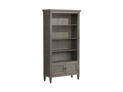 Tall Bookcase With 2 Doors