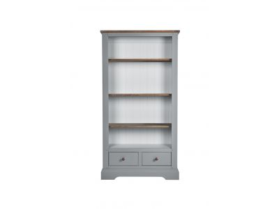 Tall Bookcase  with 2  Drawers