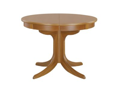 Circular Dining Table on Pedestal