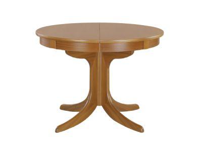Circular Table on Ped
