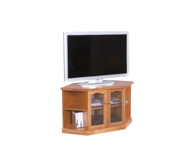 Corner TV / DVD Unit 2 Doors
