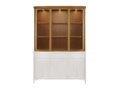 Shades Shaped Glass Door Display Top Unit