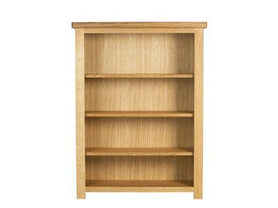 Short & Wide Bookcase Oak