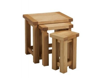 Nest of Tables  Oak
