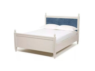 Super King Bed with Upholstered Headboard