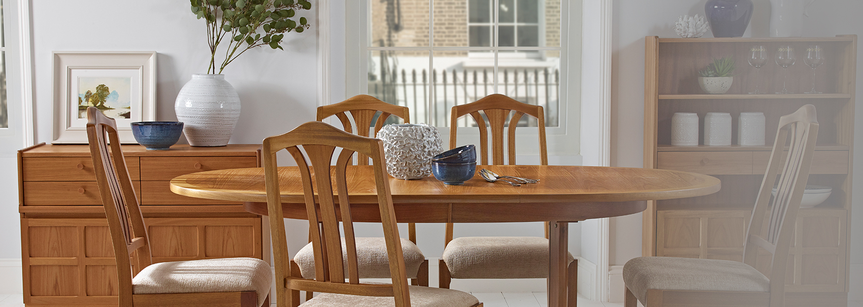 Nathan Classic Teak Dining Lifestyle